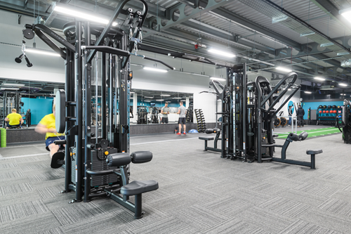 lat pull down machine puregym