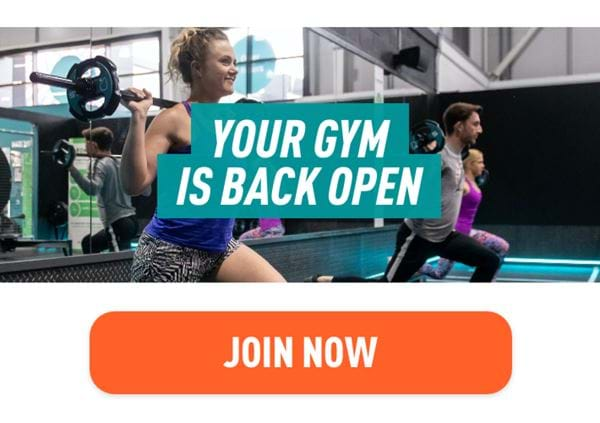 Your gym is back open