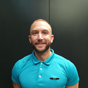 Mark Cope Assistant Gym Manager