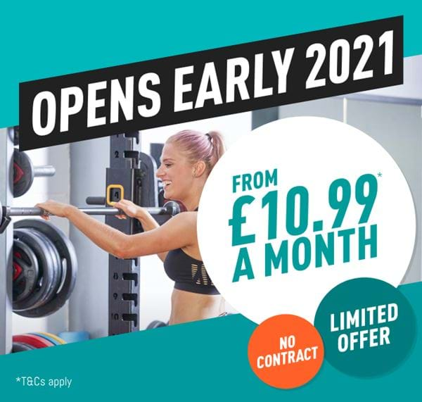Opens early 2021 - from £10.99 a month - limited offer