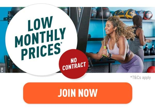 Train with confidence at the UK's favourite gym. Low monthly prices. No Contract. Join now.