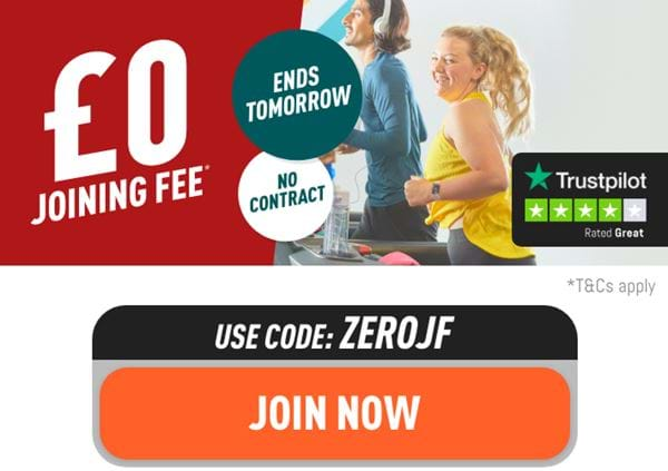 £0 joining fee. Ends tomorrow. T&Cs apply. Join now